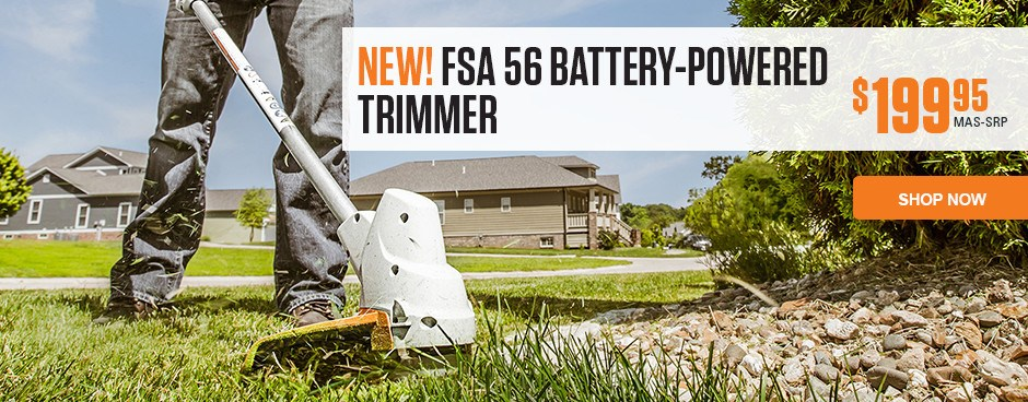 NEW! FSA Battery-Powered Trimmer